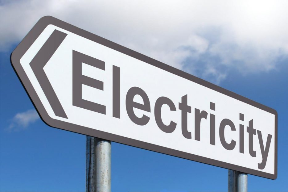 Electricity Sign